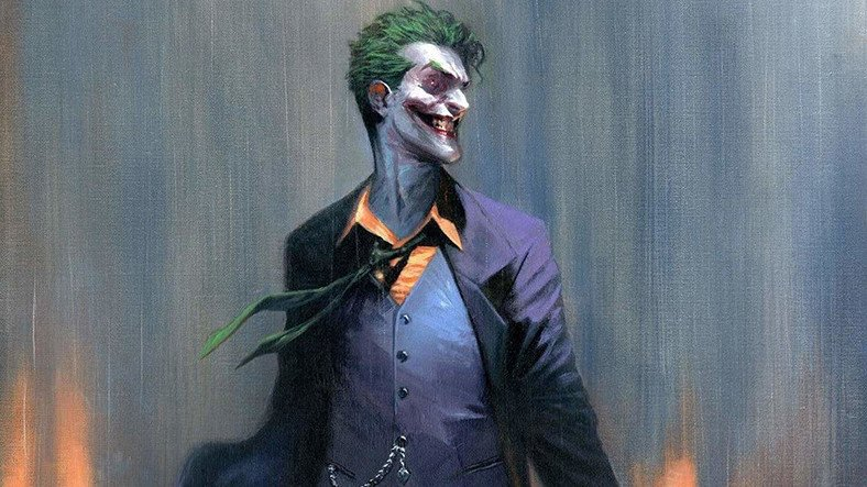 Joker Movies and Comics with Stories